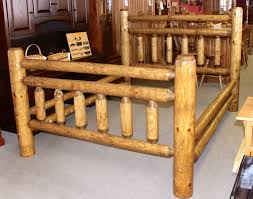 Cheap Log Bed Frames Beautiful Log Bed Frame 6 Photos Clubanfi