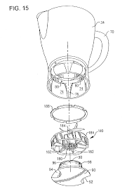 patent us6758592 blender jar with recipe markings google patents