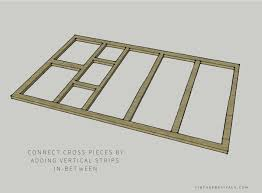 Sliding Barn Door Construction Plans How To Build A Lightweight Sliding Barn Door U2022 Vintage Revivals