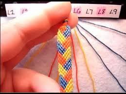 braided friendship bracelet images Friendship bracelet tutorial beginner the braided stitch jpg