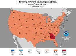 National Temperature Map This Again Nasa Just Confirmed That 2016 Was The Hottest Year On