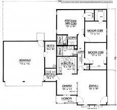 Modern 1 Story House Plans Plan Farm House Floor Modern Farmhouse Open Nice Concept Plans
