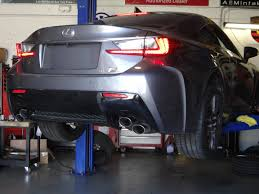 lexus rc exhaust system lexus rc f 15mm wheel spacers vfr auto blog