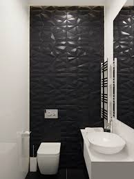 Feature Wall Bathroom Ideas Colors Home Designing U2014 Via Hexagonal Black Feature Wall Bathroom