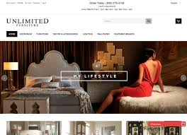 web design unlimited furniture group ecommerce website