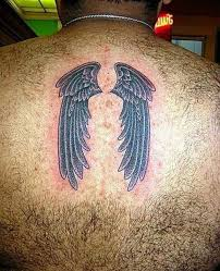 wings design on s back tattooshunter com