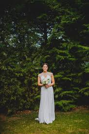 a grecian style dress for a glamorous english country house
