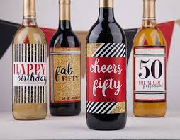 wine birthday gifts birthday gift basket cheers to 50 birthday gift basket