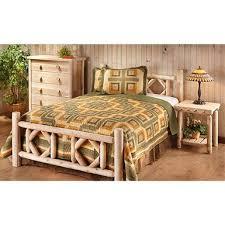 Cheap Log Bed Frames Castlecreek Cedar Log Bed King 297899 Bedroom Sets At
