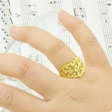 bridal gold ring women heart ring ring ring gold ring gold plated