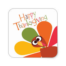 happy thanksgiving stickers happy thanksgiving