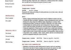 Baker Resume Sample by Spectacular Inspiration Skill Resume 2 I Really Skill Based