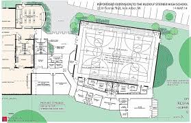 basketball gym floor plans gym floor plan luxury rudolf steiner high school seeks to build gym