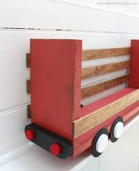 ana white truck shelf or desk organizer diy projects