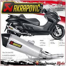 exhaust akrapovic s y4so10 hzaass slipon road legal inox yamaha