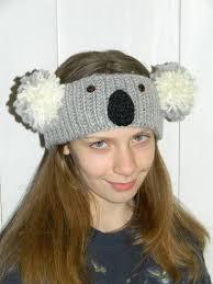 ear warmer headband koala headband ear warmer knitting lessons are coming along