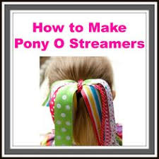 hair bow supplies how to make pony o streamers hairbow supplies etc your