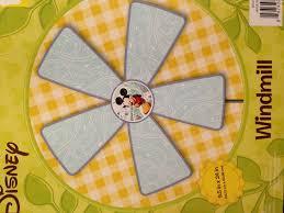 amazon com disney decorative garden windmill mickey mouse