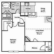 Apartment Floor Plan Philippines Best One Bedroom Apartment Floor Plans Great One Bedroom Floor