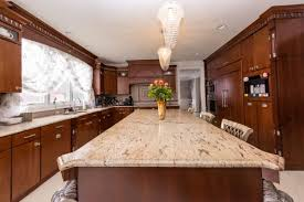 Dark Cabinets In Kitchen Countertops How Do You Cook A Brisket In The Oven Kitchen Wall