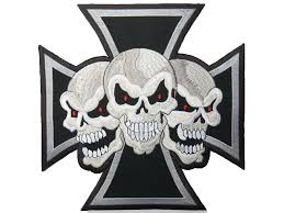 maltese 3 skull i available now many more patch