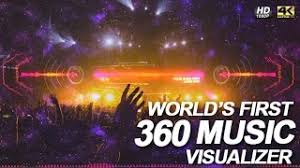 after effects audio spectrum music visualizer free template