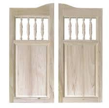 Center Swing Patio Doors Decorating Bedroom Swinging Door With Metal Inlay Bunch