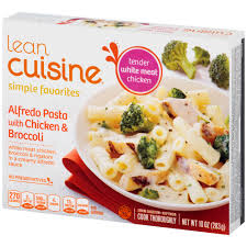 are lean cuisines healthy lean cuisine alfredo pasta with chicken broccoli shop diet