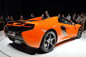orange mclaren price mclaren 650s spider the middle mclaren loses its top update