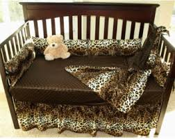 Leopard Bed Set Leopard Baby Bedding Set