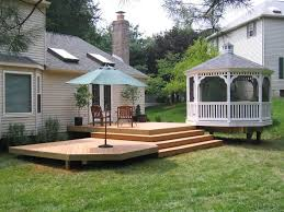 raised decking designs ideas for elevated deck designs st louis