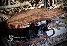 Coffee Tables Rustic Wood Natural Wood Coffee Tables Rustic Coffee Table Littlebranch Farm