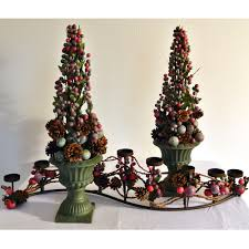 christmas topiary permanently chic floral festive contemporary christmas