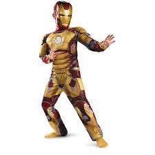 Halloween Light Up Costumes Iron Man Mark 42 Child Halloween Costume Walmart Com