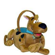 plush easter basket brothers medium scooby doo plush easter basket