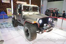 mahindra jeep price list mahindra thar daybreak edition body kit costs inr 9 6 lakhs