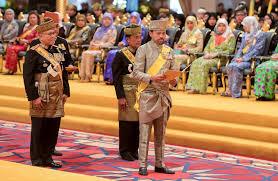 sultan hassanal bolkiah news crown prince pays tribute to sultan u0027s leadership