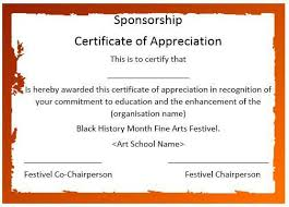 sample wording for certificate of appreciation how to write a