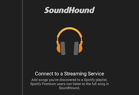 soundhound apk soundhound integrates spotify playlists livelyrics included