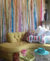 hippie curtains boho curtain junk gypsy curtain rustic rag
