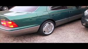 lexus sc430 usa vip 1996 lexus ls400 on sc430 wheels youtube