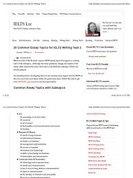 ielts past paper writing essay topics for ielts with answers which one is easier the ielts general or the ielts academic quora ielts material