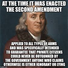Second Amendment Meme - 2nd amendment imgflip