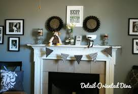 Mustache Home Decor by Detail Oriented Diva Mustache Bash Baby Shower