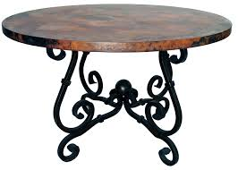 Wrought Iron Dining Room Tables by Outstanding Wrought Iron Dining Room Table Base Including