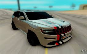 jeep grand cherokee limousine jeep grand cherokee srt for gta san andreas