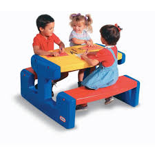 Little Tikes Folding Picnic Table Instructions by
