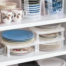 plate organizer for cabinet 50 plate storage rack kitchen cabinet plate rack storage presented