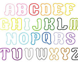 cat applique letters design embroidery font 5x7 hoop instant