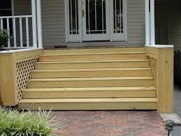 Wooden Front Stairs Design Ideas Amazing Wooden Front Steps Design Ideas Photos Ideas House
